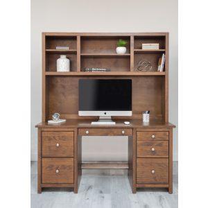 Erica Desk 62 Wide with Hutch