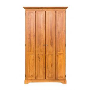 Polo Bifold Closet Armoire