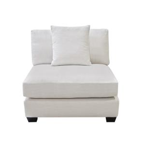 Square Modular Armless Chair