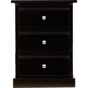 Soho 3 Drawers Nightstand