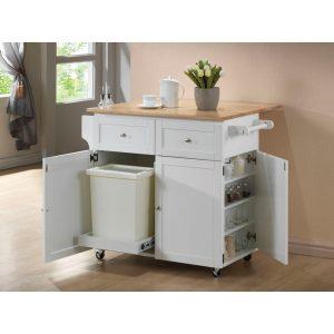 3-Door Kitchen Cart