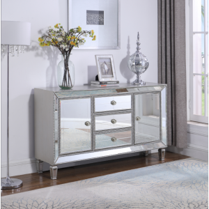 3-Drawer Accent Cabinet